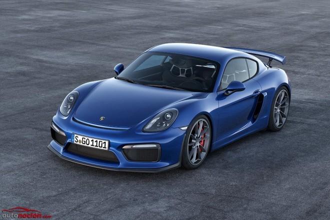 Nuevo Porsche Cayman GT4: Componentes del 911 GT3 para el nuevo miembro de la familia GT de Porsche