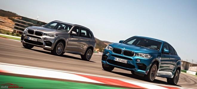 Nuevos BMW X5 M y X6 M, 585 cv desde 136.900 y 139.900 euros respectivamente