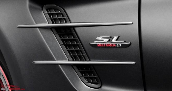 """Edición especial SL """"Mille Miglia 417"""": Una mirada al pasado del Roadster"""