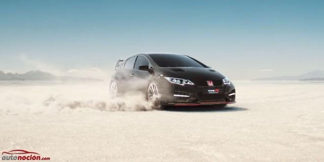 Honda ofrece un nuevo teaser del Civic Type R durante un anuncio