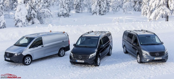 Mercedes-Benz Vito, versatilidad y espacio, ahora con tracción integral