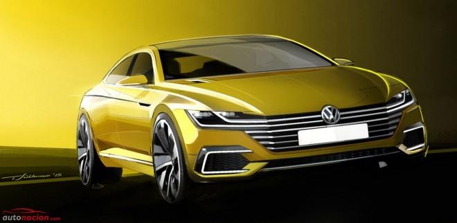 Volkswagen Sport Coupé Concept GTE, ¿El futuro Passat CC?