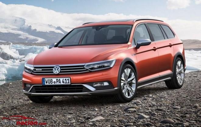 Nuevo Volkswagen Passat Alltrack: Vistiéndose para el campo