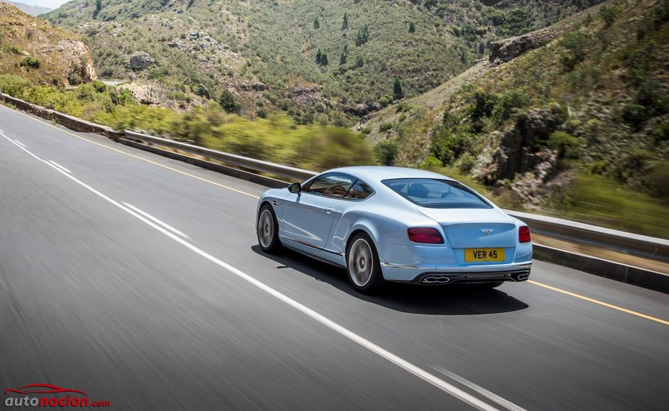 bentley continental trasera