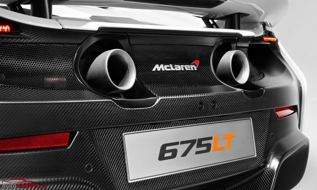 escape mclaren 675LT