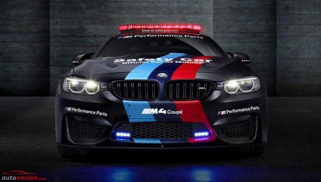 El BMW M4 Coupé repite como Vehículo de Seguridad de MotoGP 2015