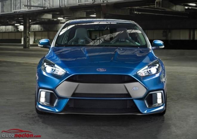 Todos los detalles y datos del nuevo Ford Focus RS: Más de 320 cv de Ford Performance