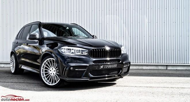 Hamann ha querido hacer único al BMW X5 M50d y lo ha potenciado hasta los 462 CV