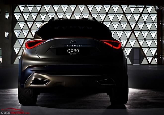 Infiniti QX30 Concept: El futuro crossover compacto premium de la marca