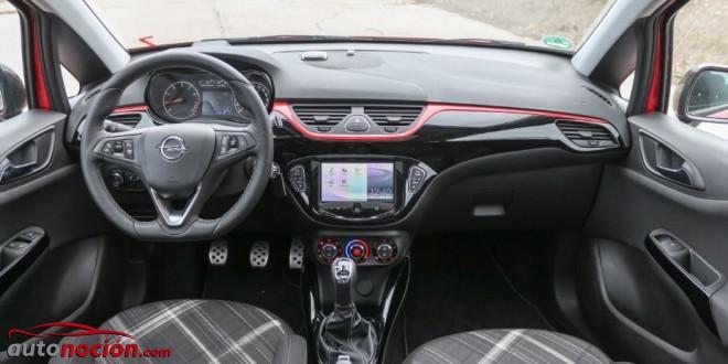 Opini n y prueba nuevo opel corsa 2015 1 4 turbo parte 2 for Interior opel corsa 2017