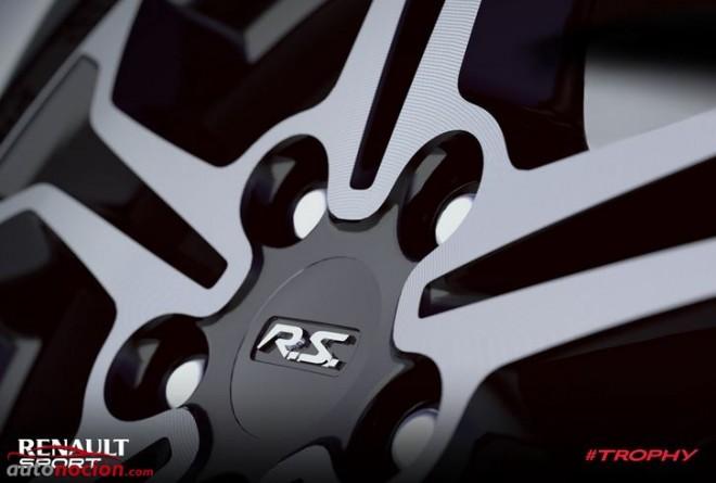 Renault Sport nos muestra una llanta de lo que podría ser un Clio RS Trophy