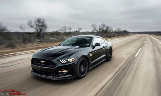 Hennessey HPE700: Así es el Mustang vitaminado que ha alcanzado los 314 km/h