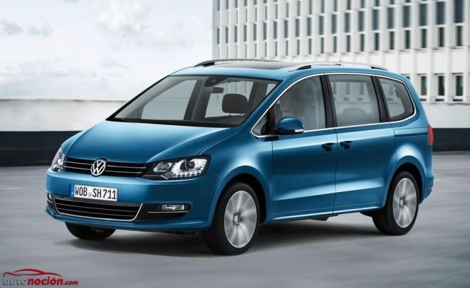 Volkswagen actualiza el Sharan: Te resumimos las novedades en 10 puntos