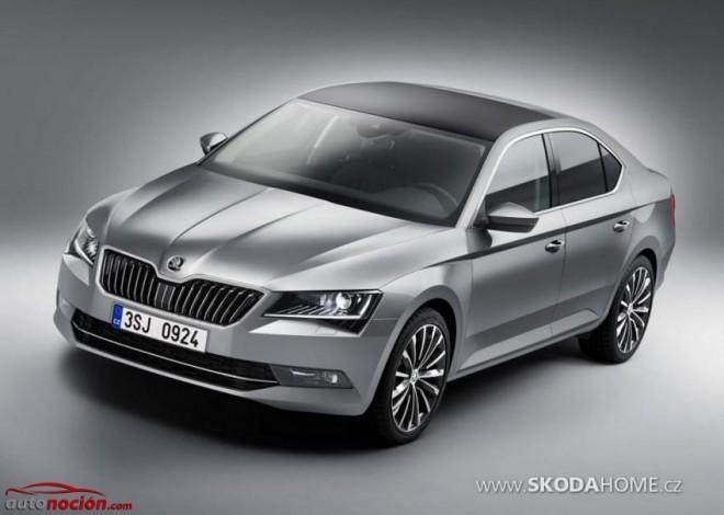 Nuevo Škoda Superb: Así de impresionante es la nueva berlina checa de representación