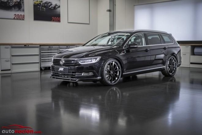 ABT prepara el nuevo Volkswagen Passat mecánica y estéticamente: tan familiar como deportivo