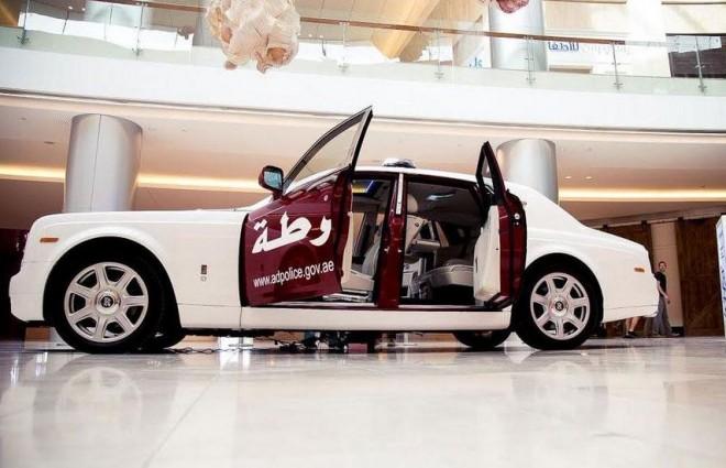 Dubai y Abu Dabi luchan por la flota de policía más exclusiva: Lo último, un Rolls-Royce Phantom