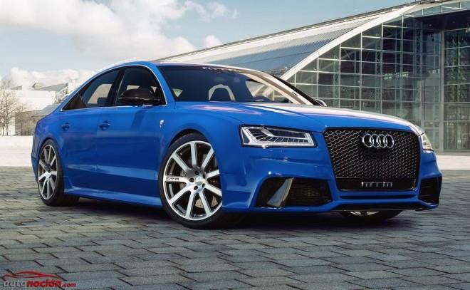"""El Audi S8 Talladega S logra un 0-300km/h en 29,0 segundos: La """"S"""" es de """"Salvaje"""""""
