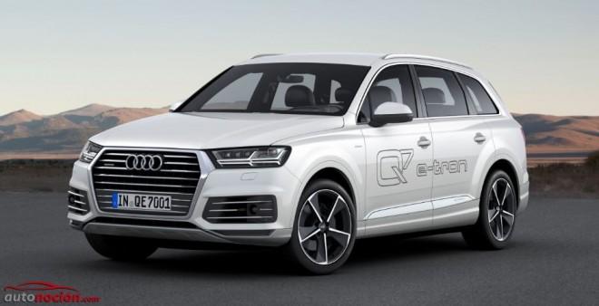 Nuevo Q7 e-tron: El primer híbrido enchufable de Audi con motor TDI