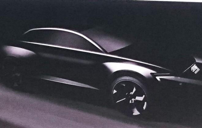 Primera imagen del Audi Q6 e-tron: El principio de una nueva era SUV
