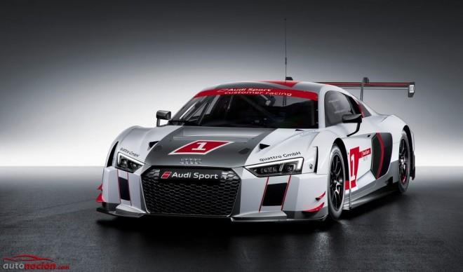 Nuevo Audi R8 LMS: La variante de carreras parte de los 434.390 euros