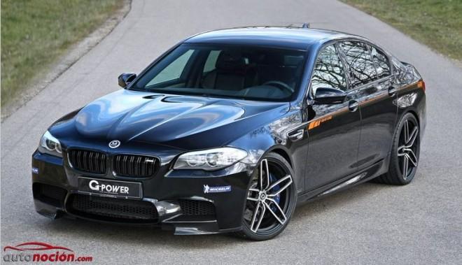 G-Force vuelve a tocar al BMW M5: 740 cv y 975 Nm de par para el rey de las berlinas deportivas