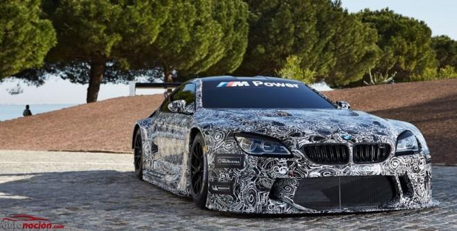 El BMW M6 GT3 ya hace pruebas en los circuitos de Monteblanco y Portimao