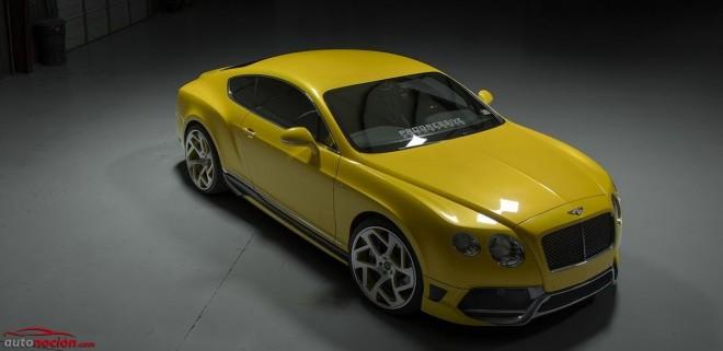 Vorsteiner propone este kit de carrocería para el Bentley Continental GT