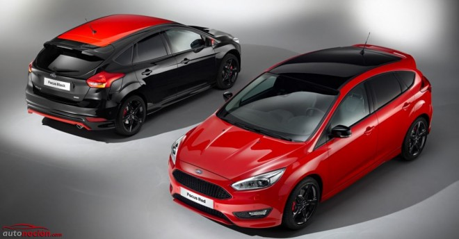 Ford Focus Red Edition Black Edition