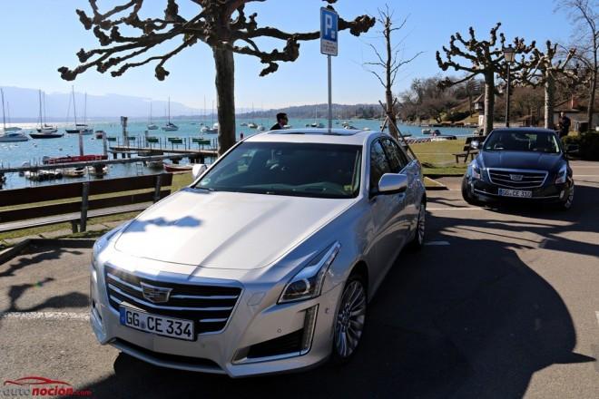 Prueba Cadillac CTS y Cadillac ATS Coupé: Dos americanos listos para triunfar en Europa