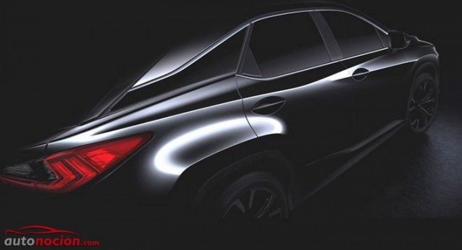 Ya está aquí el primer teaser del nuevo Lexus RX: Una cuarta generación realmente esperada