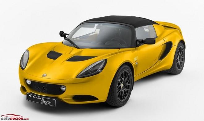 Lotus Elise 20 Anniversary Edition: 217 cv para 914 kg.