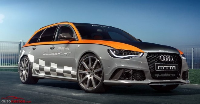Audi RS6 Avant Clubsport: 760 cv y 945 Nm para el familiar alemán