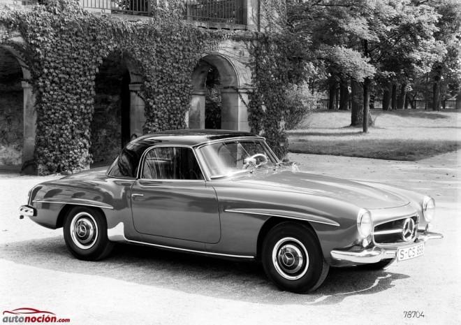 Mercedes-Benz 190 SL, 60 años de un automóvil pasional y elegante que cautivó al público