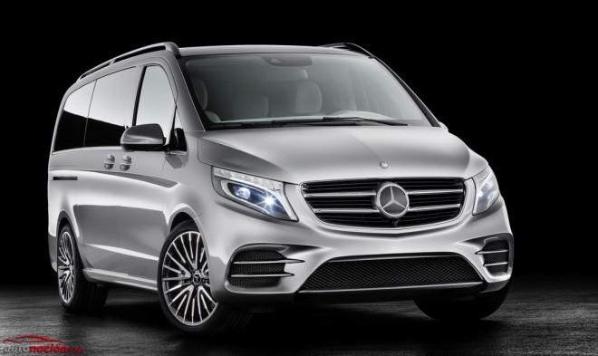 Mercedes-Benz Concept V-ision, la variante Plug-In Hybrid de la clase V