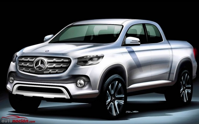 El pick up de Mercedes-Benz ya es oficial
