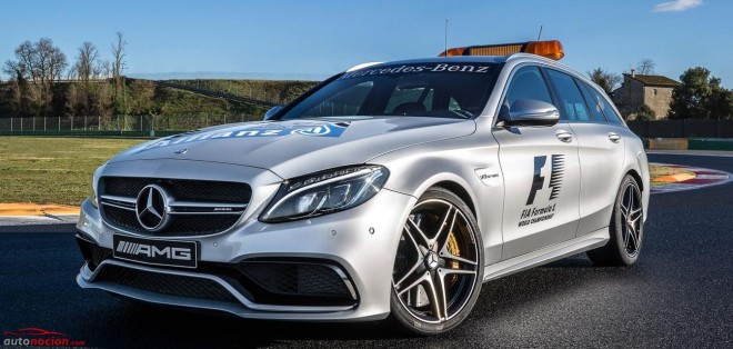 Mercedes Safety Car 01