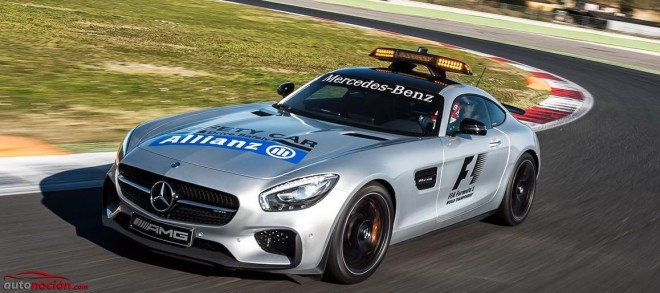 Mercedes-Benz nos presenta los coches de seguridad y médicos de la F1