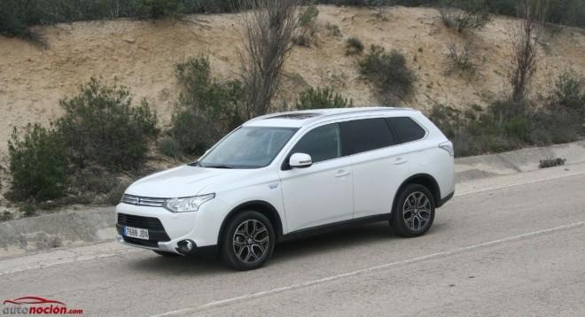 Prueba Mitsubishi Outlander PHEV: El SUV más eficiente del mercado