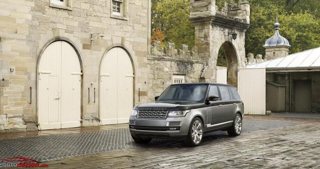 Range Rover SVAutobiography: 550 CV para el modelo más potente y exclusivo de la marca