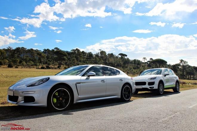Prueba Porsche Cayenne S E-Hybrid y Porsche Panamera S E-Hybrid: La deportividad de siempre más eficiente que nunca.