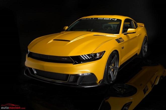 Saleen Mustang S302 Black Label: 730 CV para el Mustang más salvaje del preparador