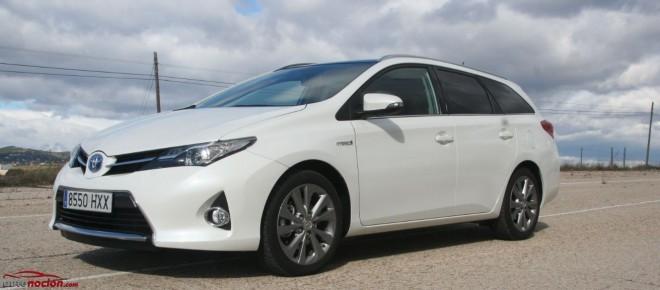 Prueba Toyota Auris Touring Sports HSD: El híbrido más familiar