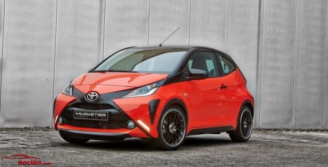 Musketier ofrece un kit más deportivo para el Toyota Aygo