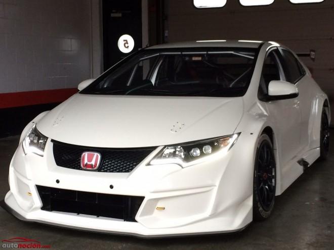 Un Honda Civic Type R aun más radical competirá en el BTCC en 2015