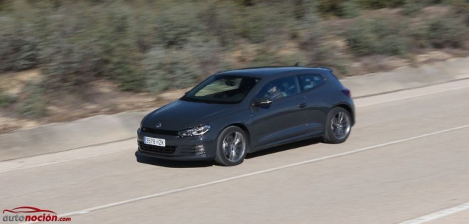 Prueba Volkswagen Scirocco R-Line 2.0 TSI 180 cv BMT DSG: Disfruta cada curva en el día a día.