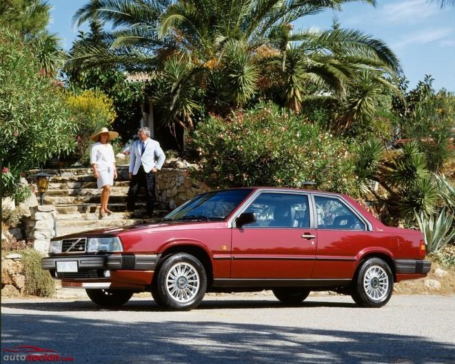 Volvo 780, un italosueco elegante y exclusivo que celebra su 30 aniversario