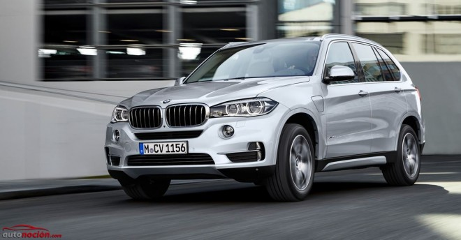 BMW X5 xDrive40e: El primer Sports Activity Vehicle híbrido enchufable de BMW