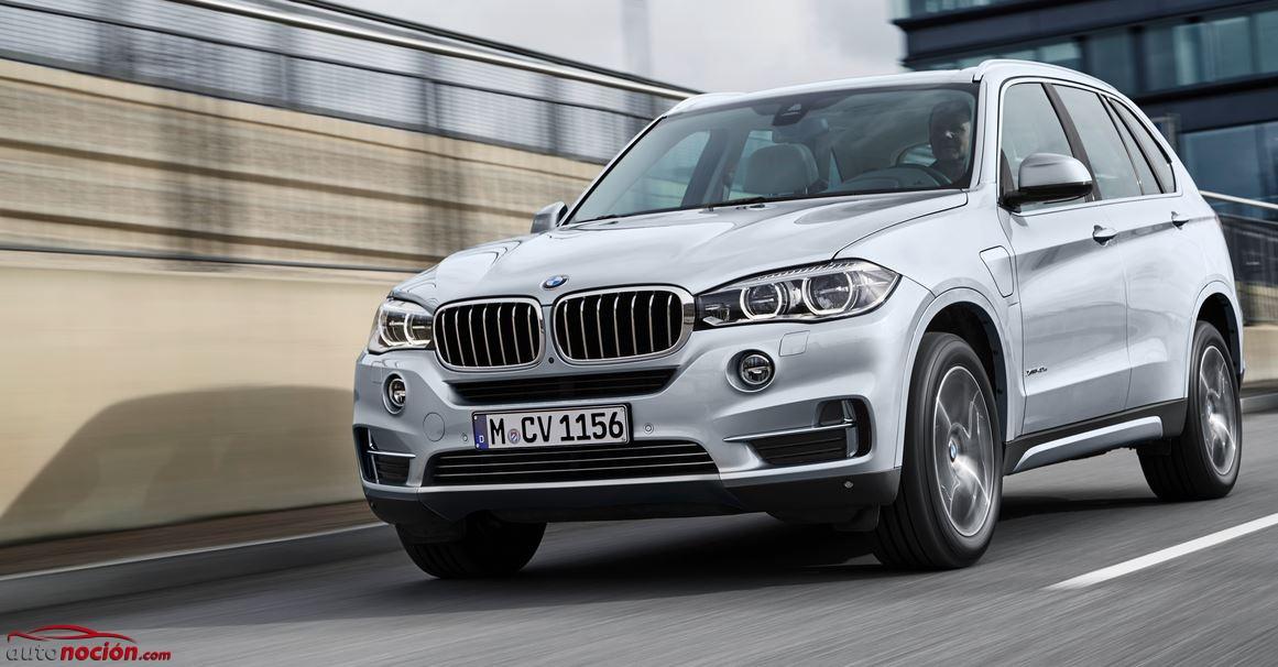 Ya puedes reservar el BMW X5 xDrive40e: Un híbrido enchufable al mismo precio del diésel