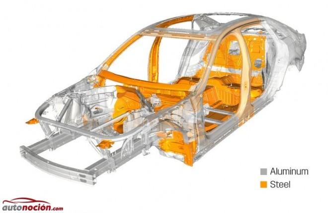 Cadillac anuncia que el 64% de la estructura del CT6 será de aluminio: GM se pone manos a la obra con el peso