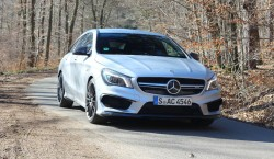 cla 45 amg exterior shooting brake